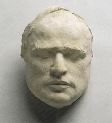 1983 Marlon Brando, mintázott maszk, gipsz