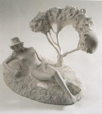 1989, Borzalino, porcelán, kisplasztika
