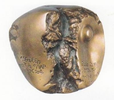 """1979, """"Hasadás"""", bronz"""