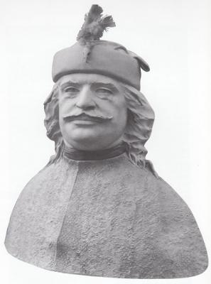 1986, II. Rákóczi Ferenc mellszobor