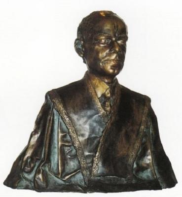 1985, Bartók Béla mellszobor